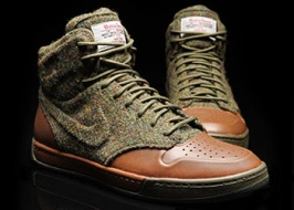 Nike x Harris Tweed: for active admirers of tweed