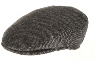Men's tweed caps Vintage Cap Tweed Grey Salt-n-Pepper
