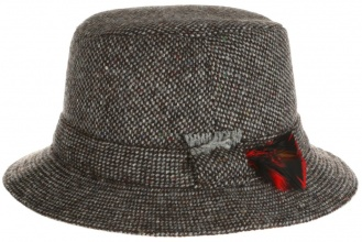 Men's tweed hats Walking Hat Tweed Grey Salt-n-Pepper