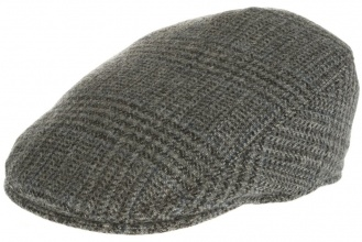 Men's tweed caps Tailor Cap Tweed Grey Window