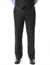 Trousers Edward Charcoal Red
