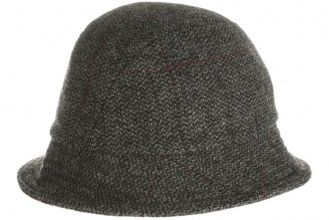 Men's tweed hats Eske Hat Tweed Grey Window