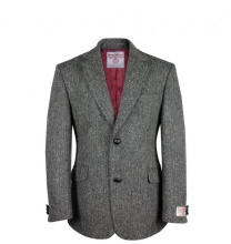 Men's Tweed Jackets & Blazers Finlay Charcoal