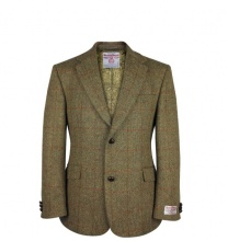 Men's Tweed Jackets & Blazers Finlay Mustard