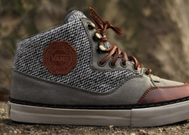 Vans Vault and Harris Tweed collaboration