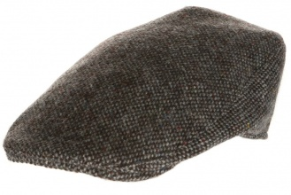 Men's tweed caps Donegal Touring Cap Tweed Grey Salt-n-Pepper