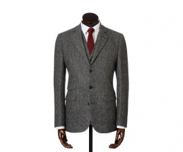 Jackets & Blazers James Grey Microcheck