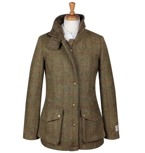 Women's Tweed Overcoats Joanna Mustard