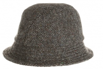 Men's tweed hats Eske Hat Tweed Grey Salt-n-Pepper