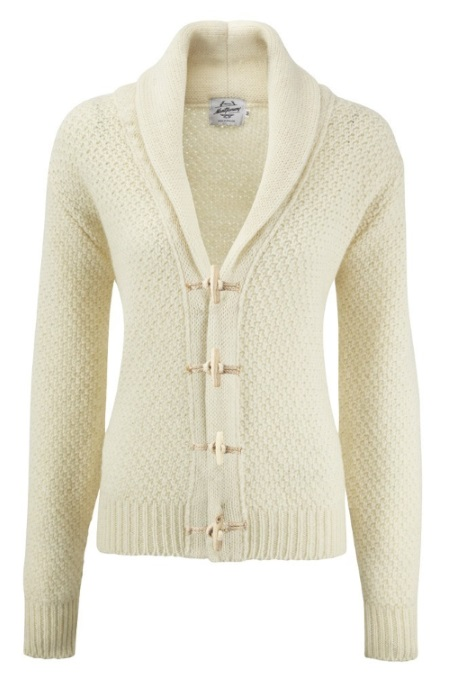 Women's Knitwear Toggle Pure Aran