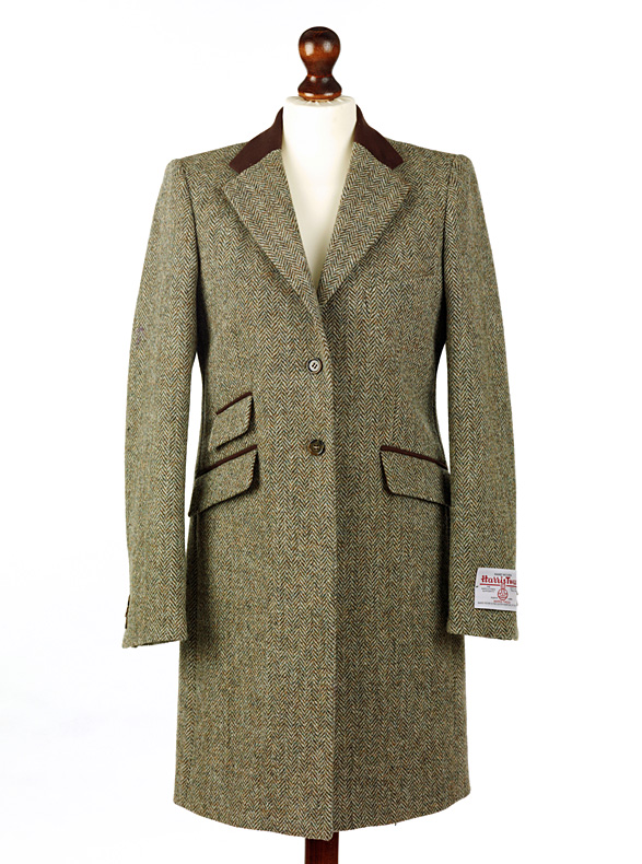 Women's Tweed Overcoats Tori Lovat