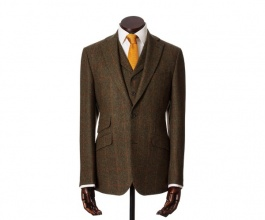 Men's Tweed Jackets & Blazers Edward Green Red