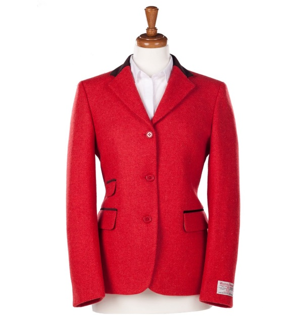 Women's Tweed Jackets Sarah Red