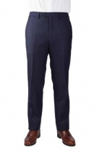 Trousers Edward Navy Red