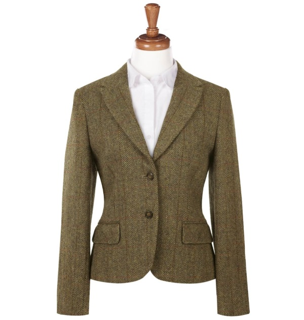 Women's Tweed Jackets Tammy Mustard