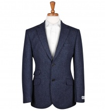 Men's Tweed Jackets & Blazers Patrick Blue