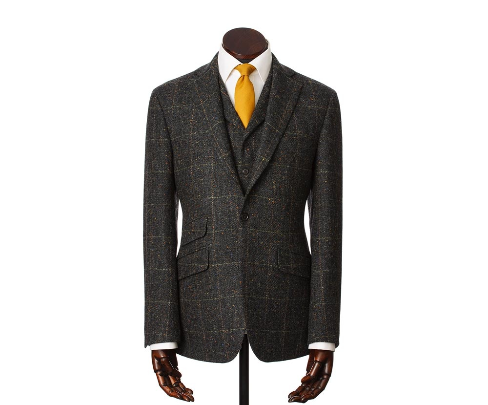 Suits Edward Charcoal Green
