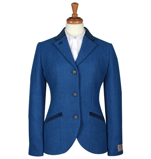 Women's Tweed Jackets Louise Turquoise