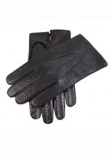 Gloves Dents Immitation Peccart Vent Lined Wool/cotton Black