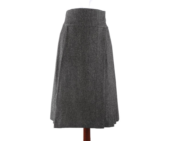 Women's Tweed Skirts Deborah Charcoal