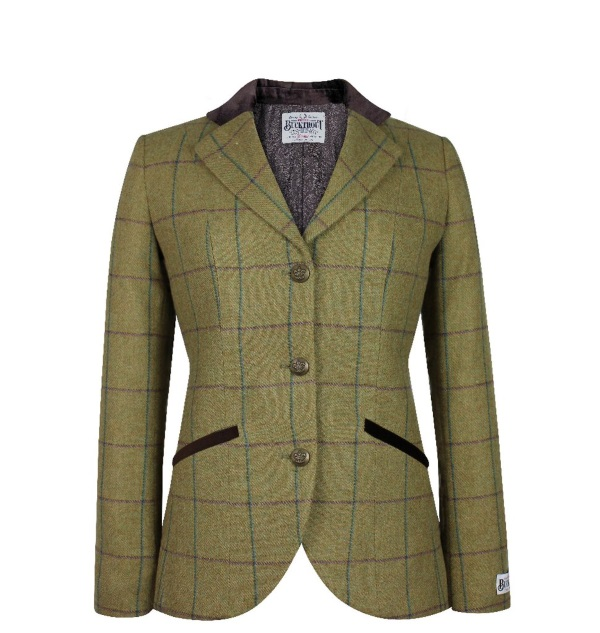 Jackets Louise Green Check
