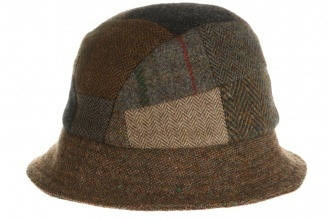 Men's tweed hats Eske Hat Patchwork Tweed