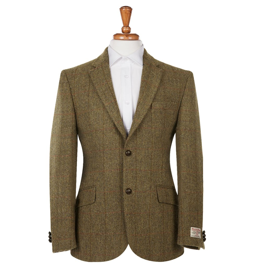 Men's Tweed Suits Patrick Mustard