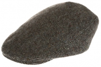 Men's tweed caps Tailor Cap Tweed Grey Salt-n-Pepper