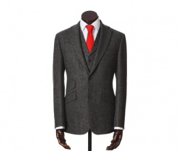 Jackets & Blazers Edward Grey Red