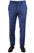 Trousers Martin Navy Multicheck