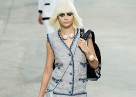 Tweed pop art — Chanel summer 2014 collection