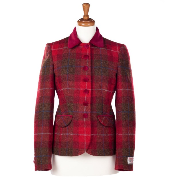 Women's Tweed Jackets Amy Red