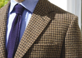Elements of tweed jacket