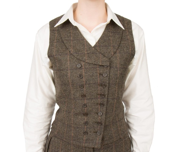 Women's Tweed Waistcoats Betsy Brown