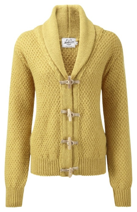 Women's Knitwear Toggle Sunflower
