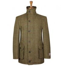 Englischer tweed mantel herren