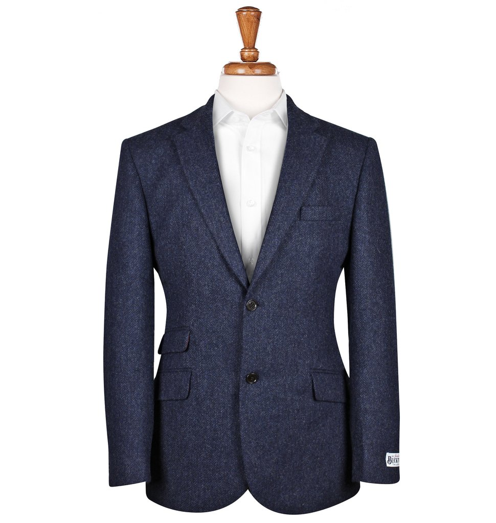 Men's Tweed Suits Patrick Blue