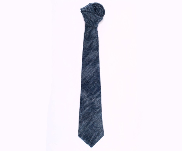 Men's tweed ties Herbert Turquoise