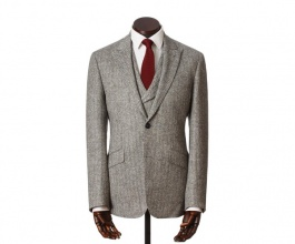 Men's Tweed Jackets & Blazers Francis Grey