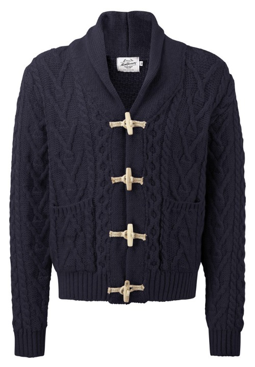 Knitwear Toggle Navy Blue