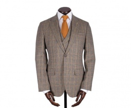 Men's Tweed Jackets & Blazers Francis Blue Red