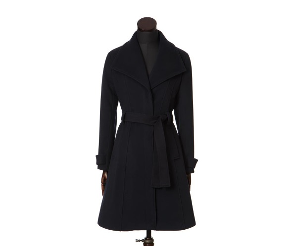 Women's Tweed Overcoats Nadia Navy
