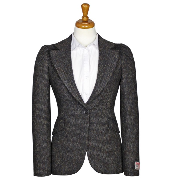 Women's Tweed Jackets Carrie Grey