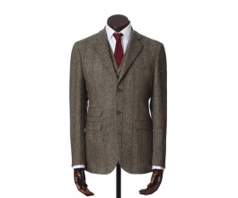 Jackets & Blazers James Grey Herringbone