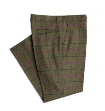 SALE Yorkshire Tweed Green Pink