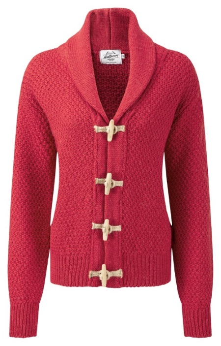 Knitwear Toggle Cherry