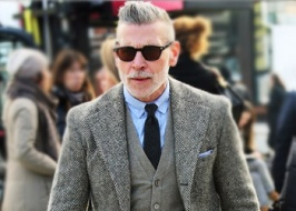 Harris Tweed from Nick Wooster — stylish and creative