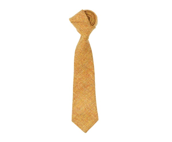 Men's tweed ties Herbert Yellow