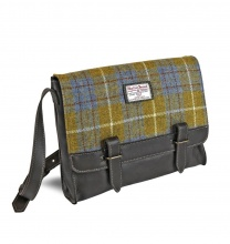 Bags Messenger Bag Yellow Check