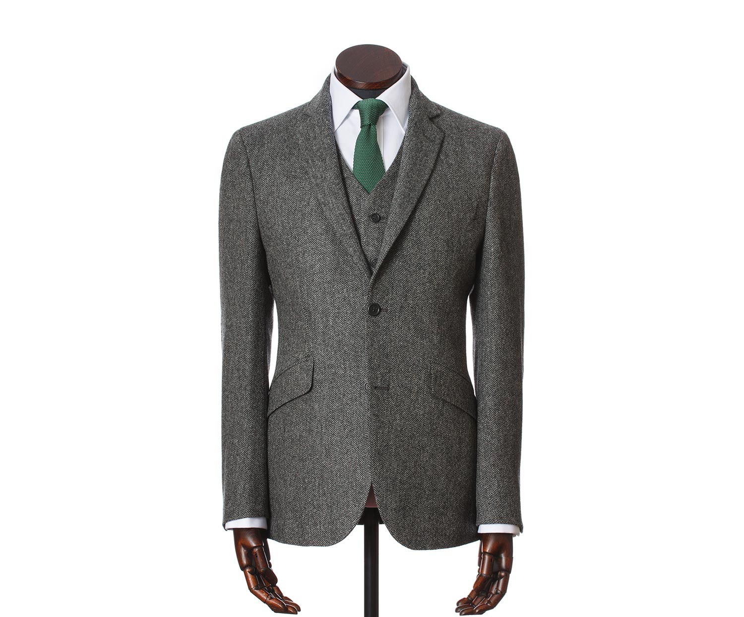 Men's Tweed Suits Martin Charcoal